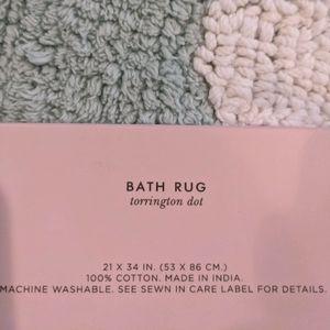 kate spade Bath - Torrington Dot Bath Rug